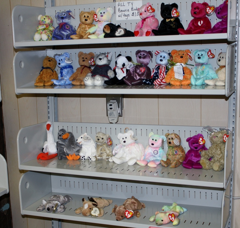 Helping Hands Thrift Store Toys Beanie Babies.JPG