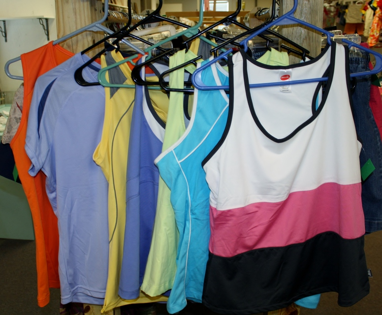 Helping Hands Thrift store Womens Workout Wear.JPG
